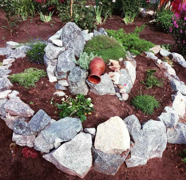 горка, сегодня, камни для альпийских горок фото можно