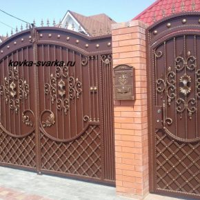 Как сделать распашные ворота своими руками — пошаговая инструкция изготовления. 115 фото вариантов постройки различных типов ворот