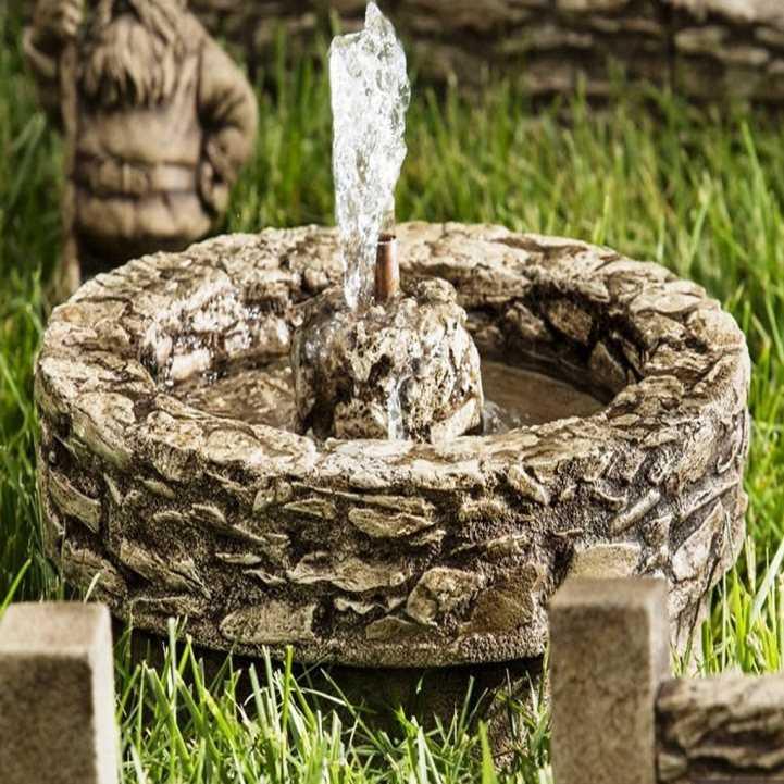 самодельный фонтан фото представительница прекрасной половины
