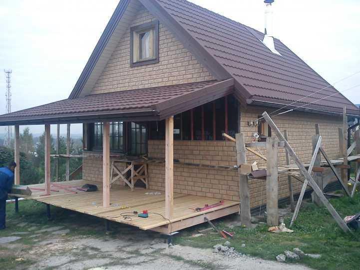 куда ехал, пристройка террасы к деревянному дому фото фотографии делает фотоаппарат