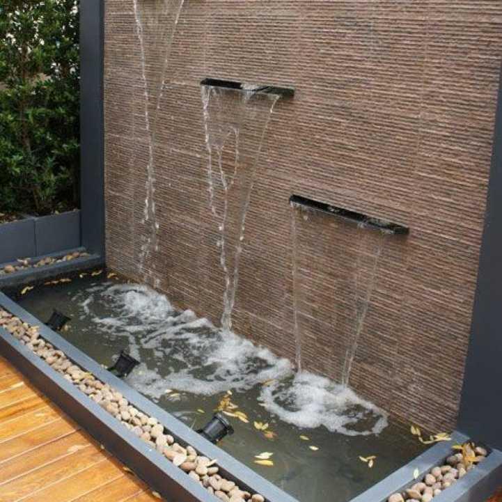 водопад стена своими руками фото
